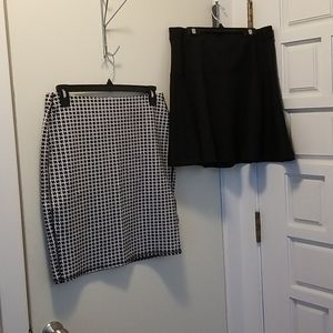 Bundle of 2 Old Navy skirts